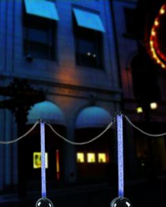 Colonne Plexiglass Strass Illuminate