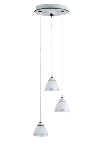 Lampadari in Ceramica e Vetro Decorato Vendita