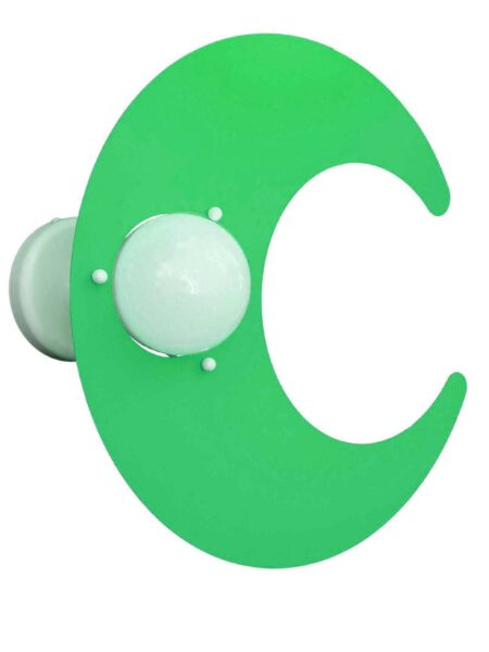 Plafoniera Nuvola Verde Cameretta Bambini