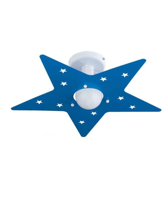 Plafoniere stella camerette bambini vendita campania la luce del futuro - Lampadari x camerette bambini ...