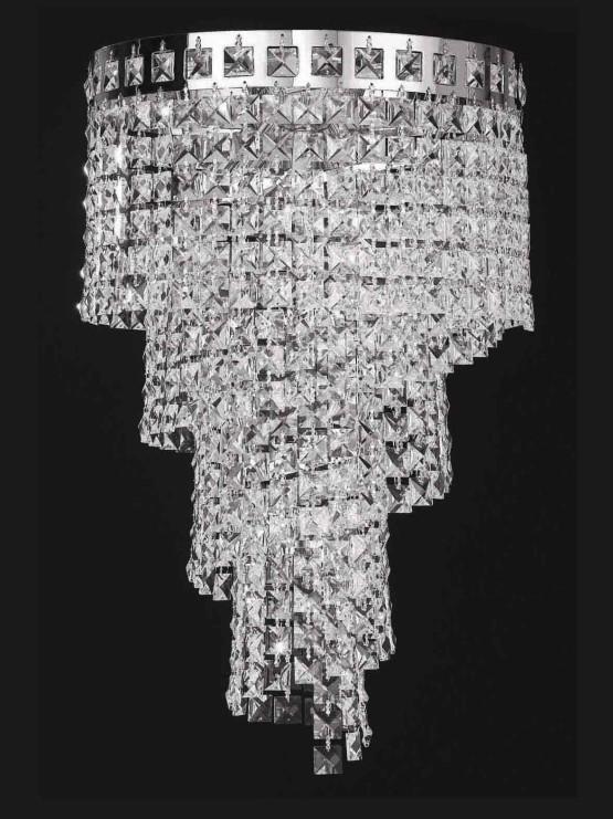 lampadari plafoniere : Plafoniere Lampadari Strass Alberghi - La Luce del Futuro