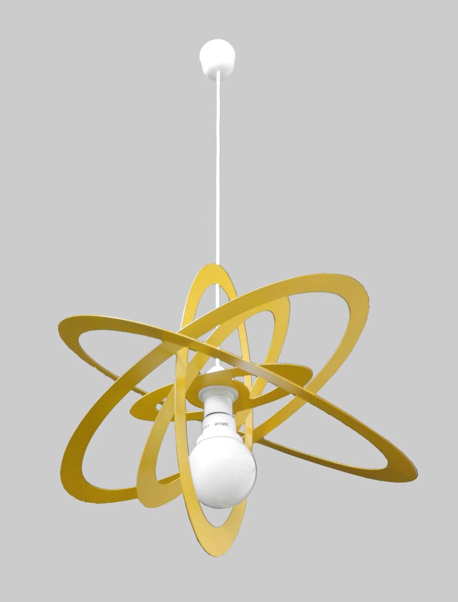 lampadario sospensione cameretta bambini giallo la luce
