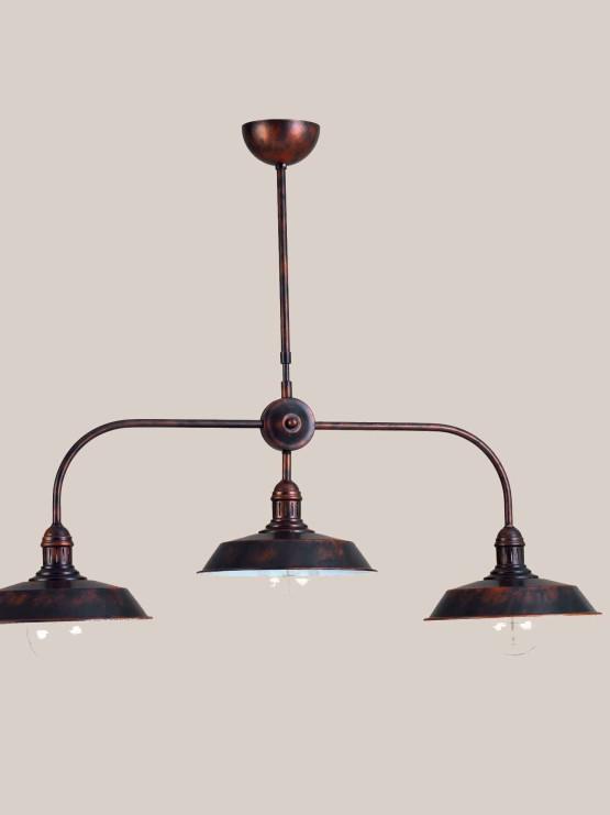 Produzione lampadari sospensioni stile vintage la luce for Lampadari vintage