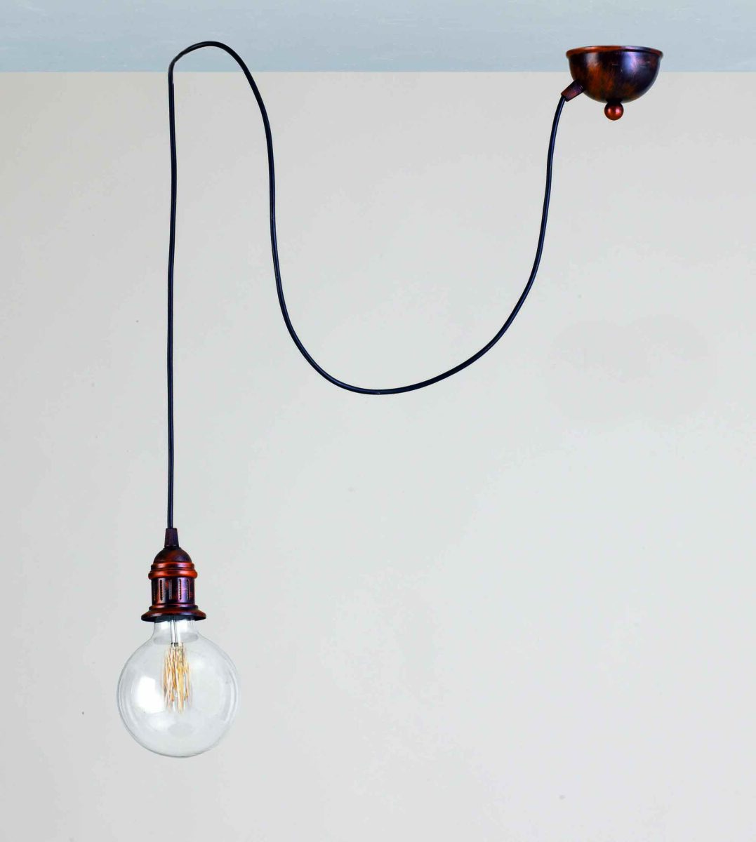 Lampadine Stile Vintage: Vintage rope pendant lights lamp loft creative personality industrial.