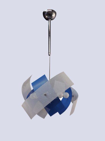 Lampadario Camerette Azzurro 6 Luci