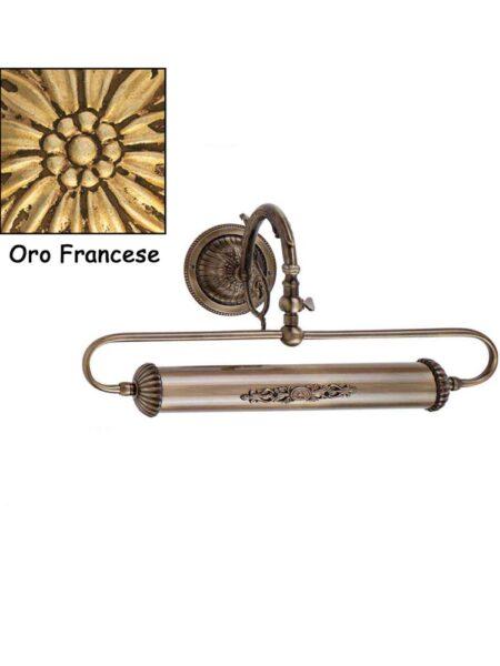 Applique Ottone Classico Oro Francese Quadri