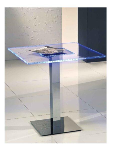 Tavolo Plexiglass Led RGB per Ristoranti Napoli