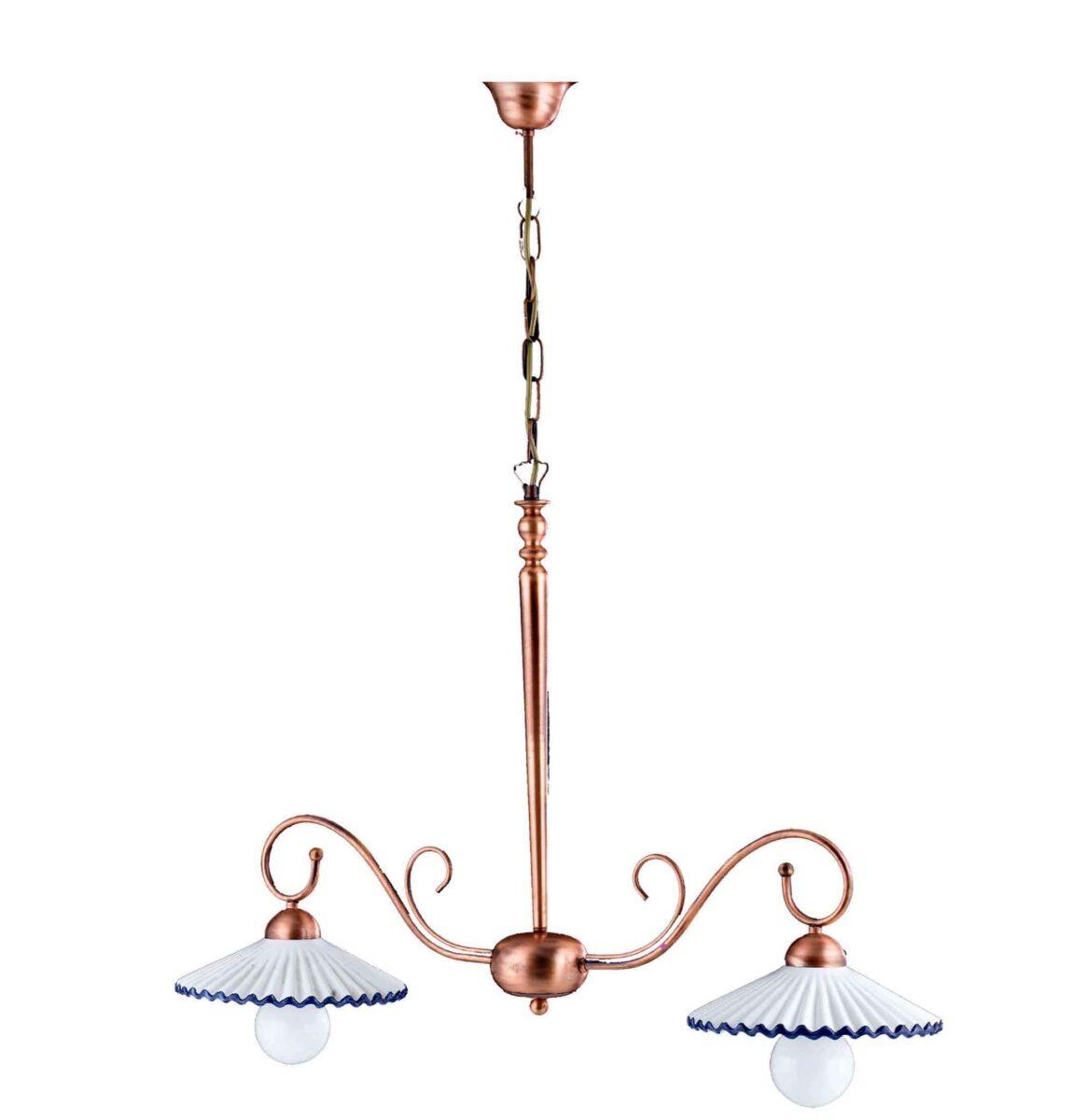 ... lampadari ceramica decorata vendita casoria napoli lampadari ceramica