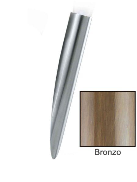 Applique Fiaccola Moderno Bronzo