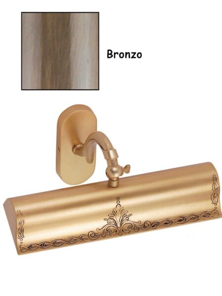 Applique Quadri Camera Ottone Lavorato Bronzo