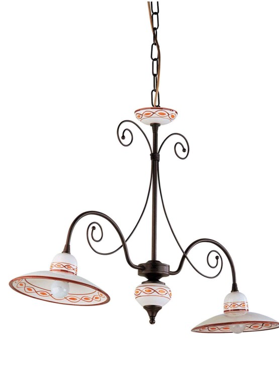 lampadari a bilanciere : ... lampadari bilanciere ceramica decorata made italy lampadari bilanciere
