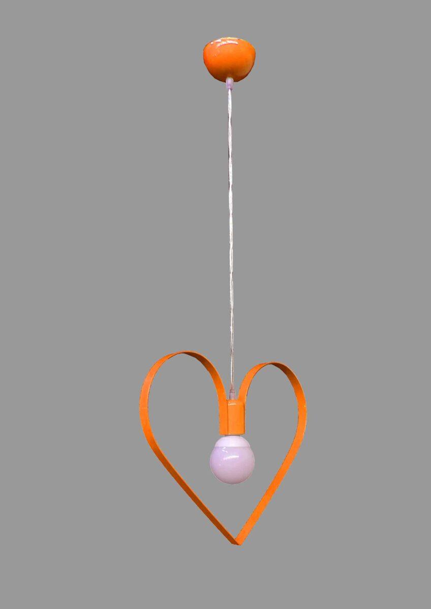 lampadario per camerette bambini cuore la luce del futuro