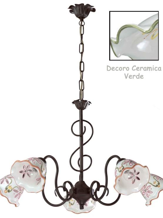 Lampadari Ceramica Produzione e Vendita Campania