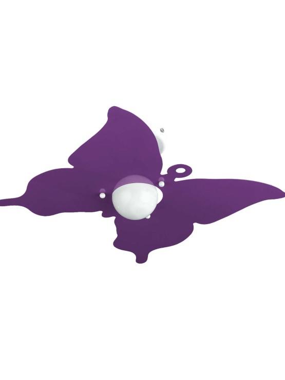 Applique Farfalla Glicine Camerette Bambini