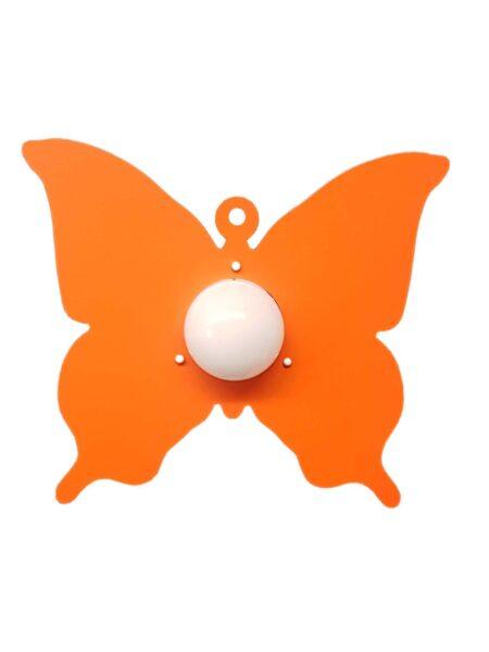 Plafoniera Farfalla Arancione