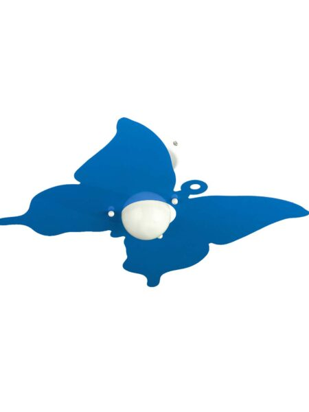 Applique Farfalla Azzurro Camerette Bambini