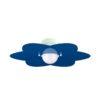 Applique Azzurro Fiore Camerette Bambini