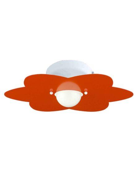 Applique Fiore Arancio Camerette Bambini