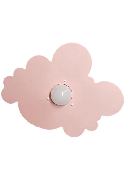 Applique Nuvola Rosa Camerette Stanzette Bambini