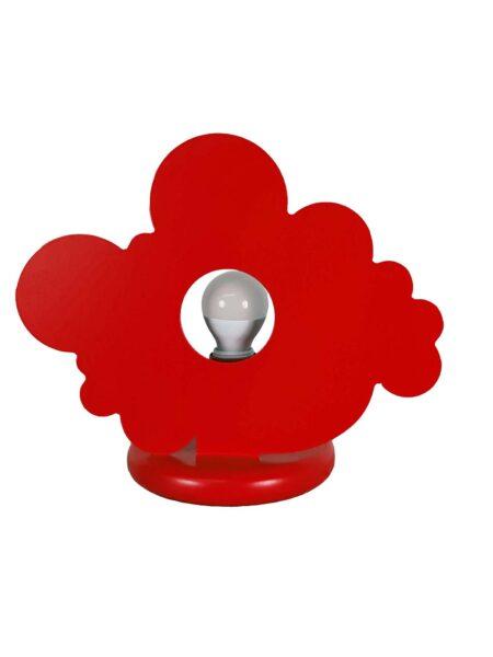 Lume Rosso Nuvola Cameretta Bambini