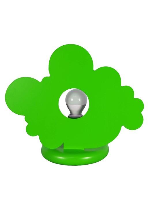 Lume Verde Mela Nuvola Cameretta Bambini