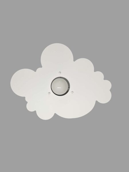Plafoniere Nuvola Bianco Camerette Bambini