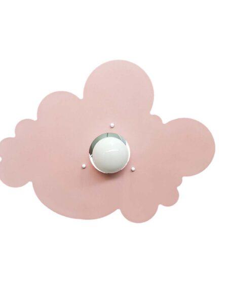 Plafoniera Nuvola Rosa Camerette Bambini