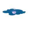 Plafoniera Nuvola Azzurro Camerette Bambini
