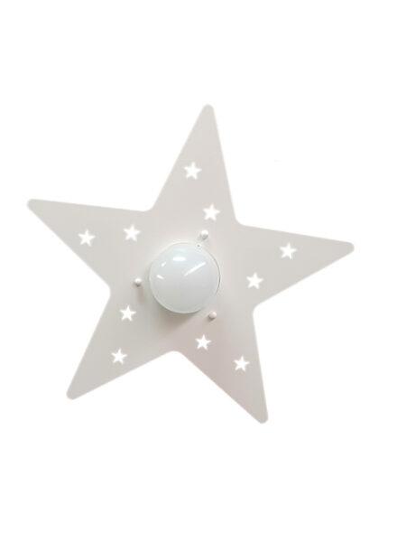 Applique Bianco Stella Cameretta Bambini