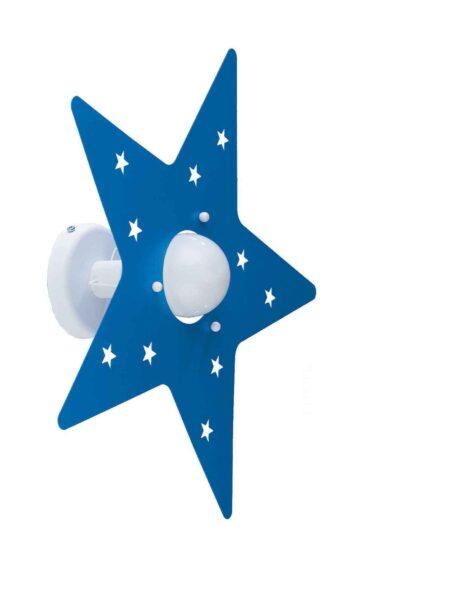 Applique Azzurro Stella Camerette Bambini