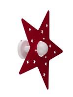 Applique Camerette Bambini Stella Rosso