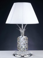 Lume Cristallo Paralume Pongè Contract Lighting