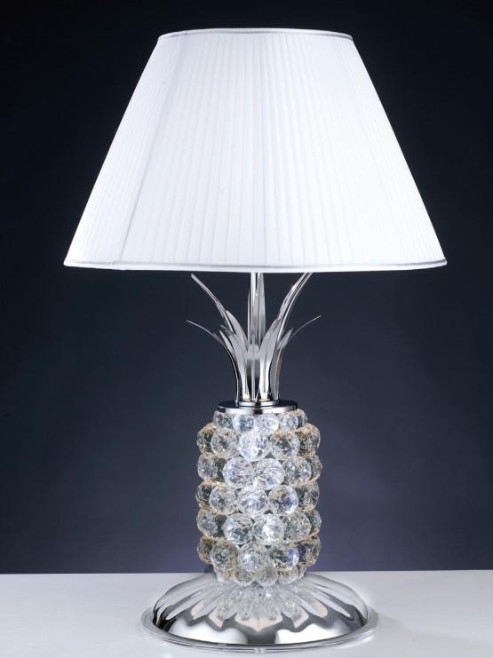 Lume Cristallo Paralume Luce Led