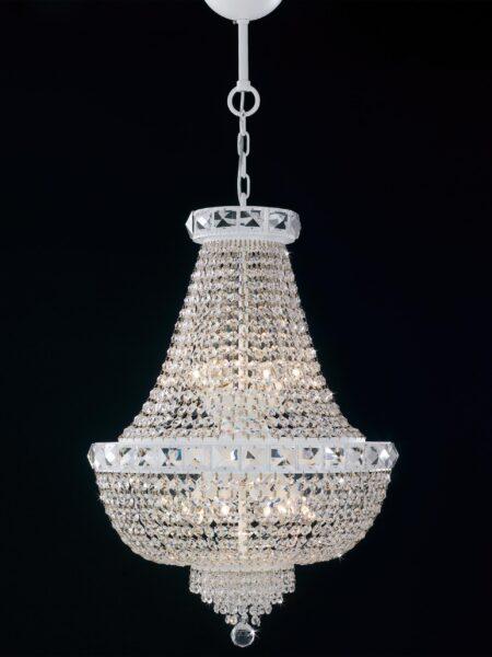 Produzione Lampadari Stile Impero Strass