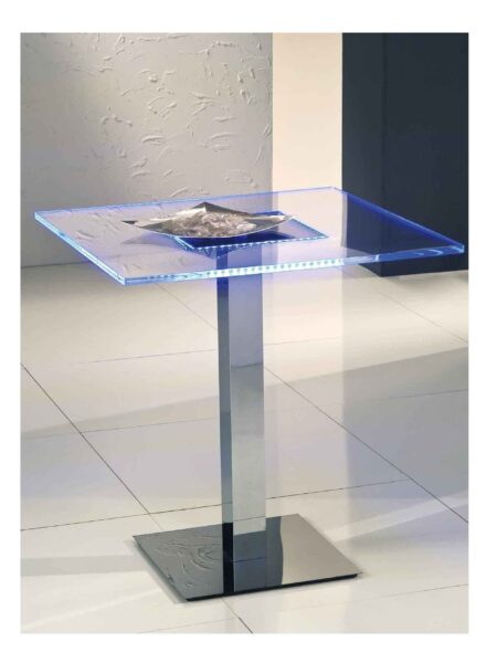 Tavolo Plexiglass e Led per Discobar