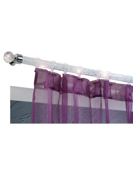 Produzione Bastoni Tende Strass Asfour Luce Led Plexiglass