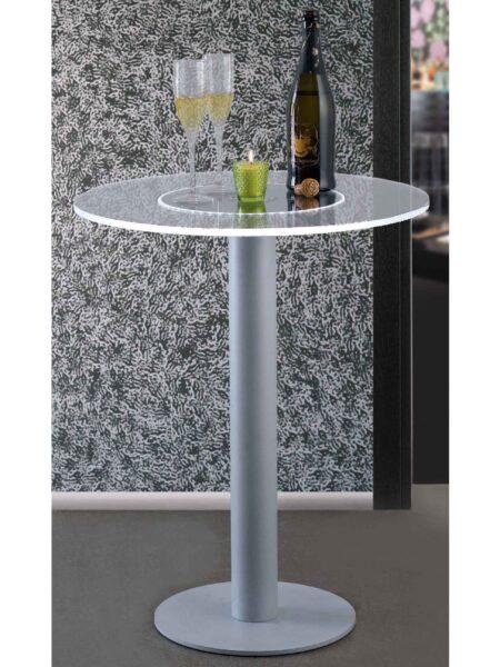 Tavolo Plexiglass e Led RGB per Wine Bar