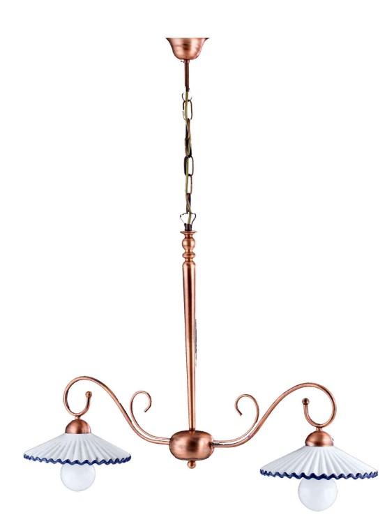 Lampadari Ceramica Decorata Vendita Casoria Napoli