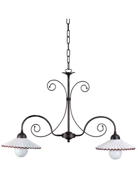 Lampadari Ceramica Decorata Fabbrica Vendita Avellino