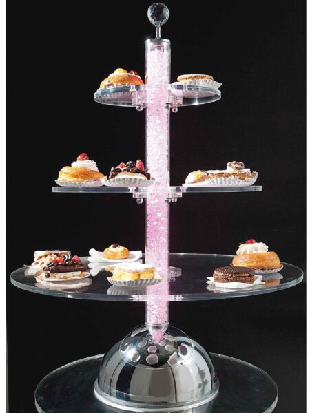 Alzate per Dolci Torte Led RGB Wedding Planner