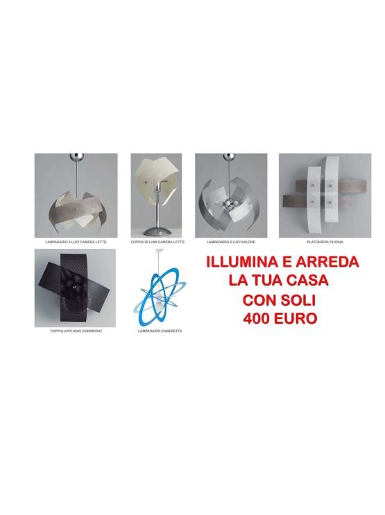 Saldi Illuminazione Offerta Lampadari per tutta la Casa con soli 400 euro