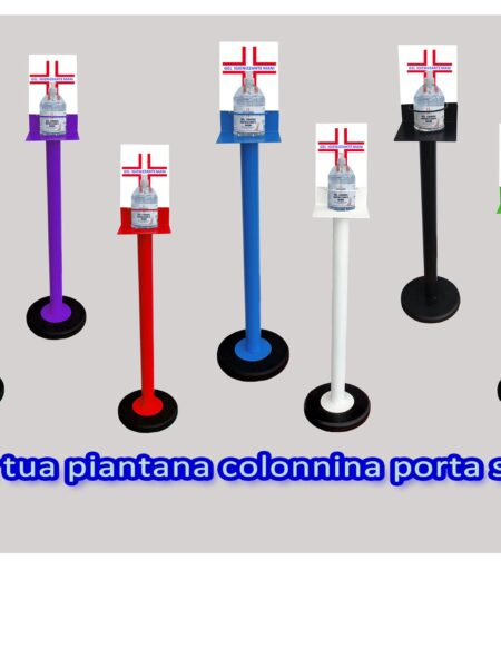 Colonnina Piantana Porta Gel Lavamani Igienizzante
