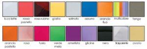 Colori disponibili stelline plexiglass La Luce del Futuro