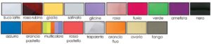 Colori Stelline Plexiglass disponibili La Luce del Futuro