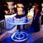Cerimonie e tavoli plexiglass luminosi