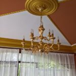 Lampadari Classici 9 Luci in Oro Lucido