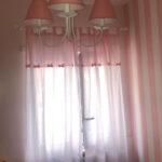 Lampadario paralumi rosa (1)