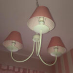 Lampadario paralumi rosa (3)