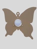 Plafoniera Farfalla Tortora