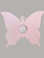 Plafoniera Farfalla Rosa